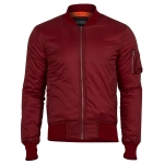 Куртка бомбер Surplus Basic Bomber Bordeaux
